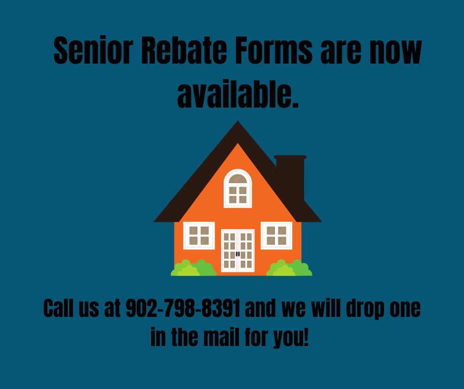 Senior Rebate Forms are now availablepng