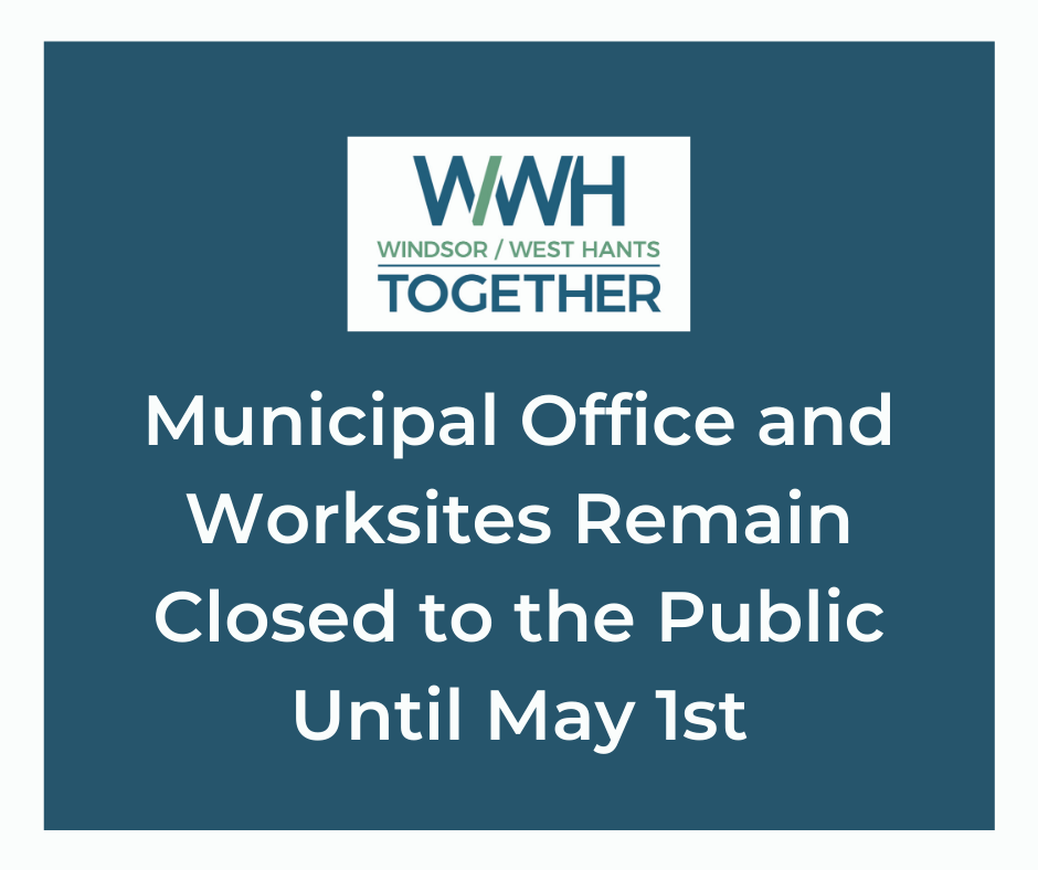 Offices remain closed until May 1st
