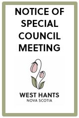 Special Council Meeting Notice